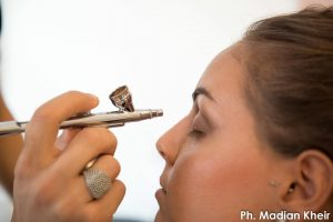 Come fare il make up con aerografo