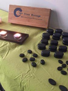 Massaggi con le pietre