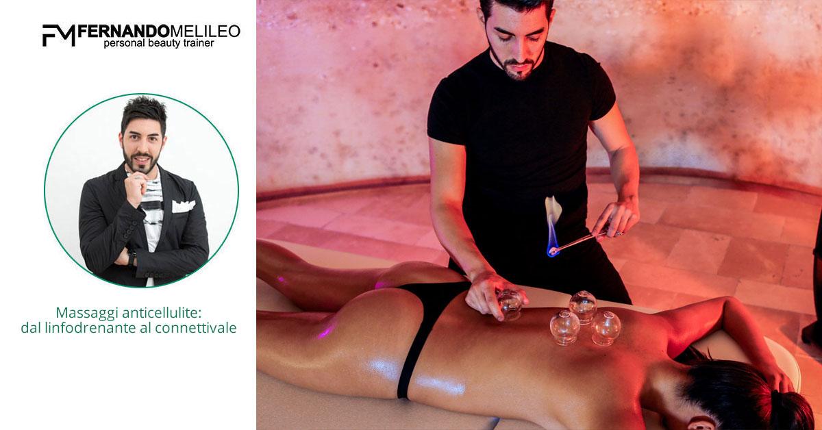 Massaggi anticellulite: dal linfodrenante al connettivale
